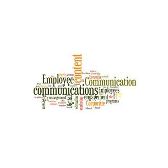Employee Communications wordle on Hanyok Communications